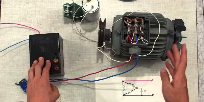 Схема электродвигателя 380 вольт фото 626