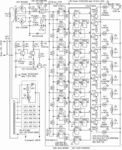 Схема стабилизатора на 220В