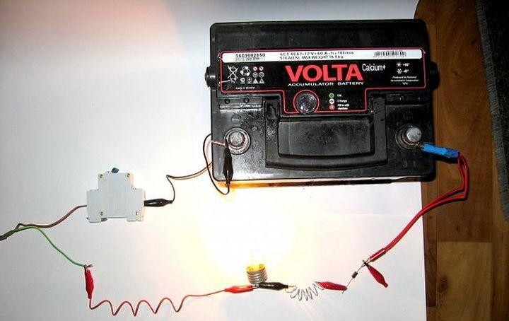 Опыт с электрическим сопротивлением