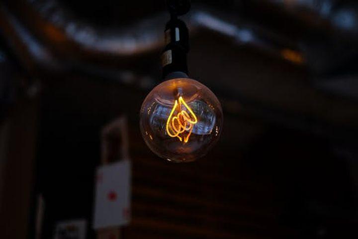 Свечение лампочки