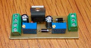 Микросхема стабилизатора 12 Вольт