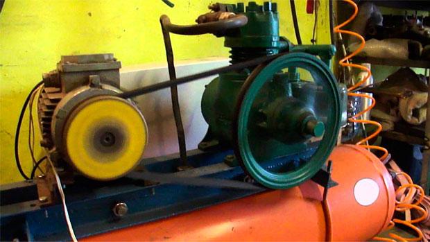 Привод поршневого компрессора на 220В