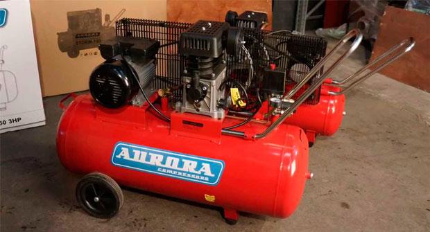 Воздушный электрический компрессор на 220В
