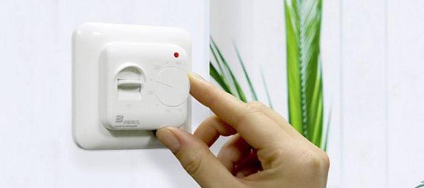 Установка регулятора температуры теплого пола