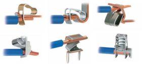 Зажимное соединение электрических проводов
