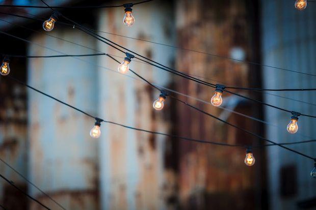 Горящие лампочки