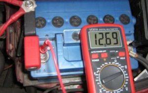 Измерение заряда АКБ