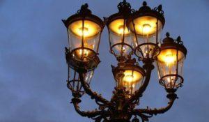 Электрические фонари