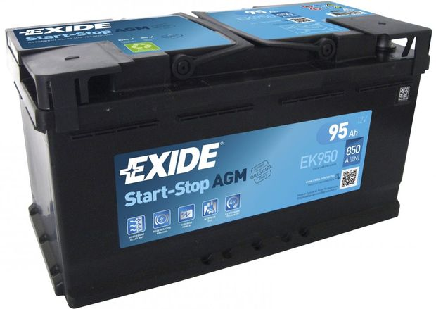 Аккумулятор 95ah850A Exide Start-Stop AGM