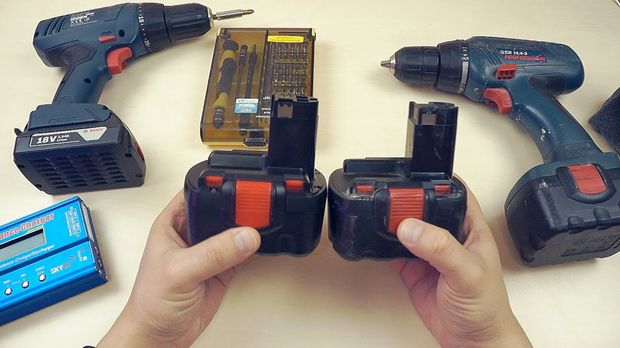 Как восстановить аккумулятор шуруповерта своими руками