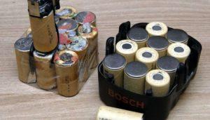 Восстановление аккумулятора шуруповерта