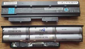 Восстановление батареи ноутбука