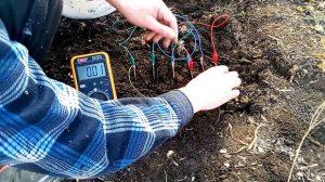 Измерение электроэнергии из земли