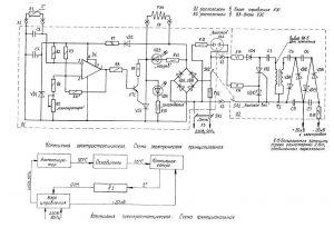 Схема высоковольтного генератора для коптильни