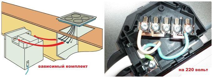 Как подключить варочную панель бош самостоятельно