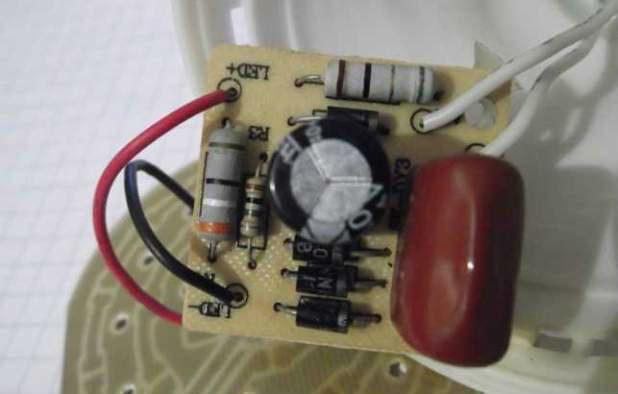 Как отремонтировать светодиодную лампочку