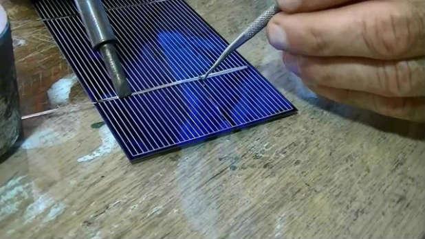 Солнечная панель своими руками