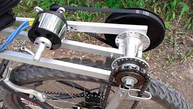 Сделай сам вело электромобиль