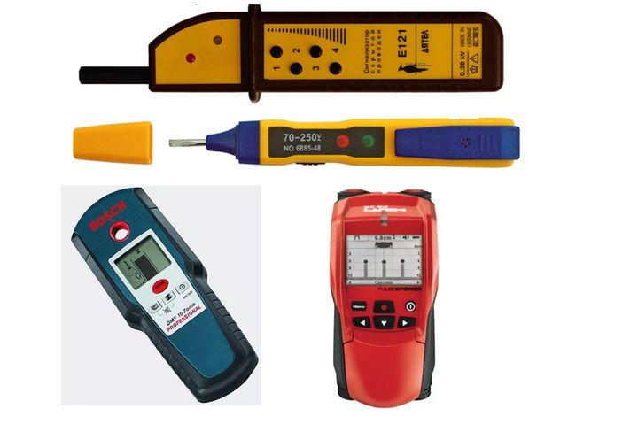 Сигнализаторы для поиска скрытой проводки