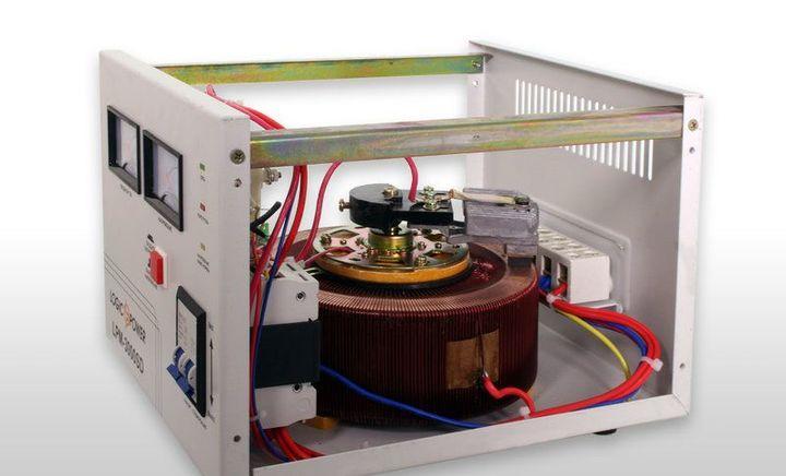 стабилизатор напряжения сервоприводный