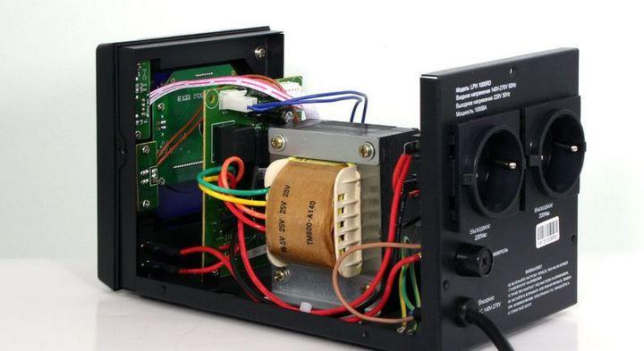 стабилизатор напряжения однофазный релейный