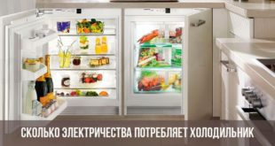Холодильник с продуктами