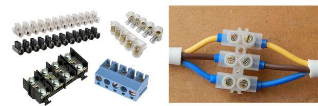 Винтовое соединение проводов