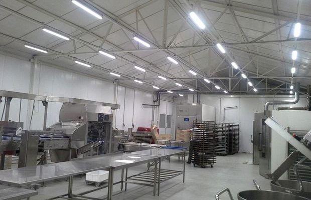 Освещение слесарной мастерской