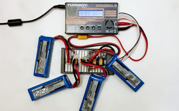 Схема соединения аккумуляторов