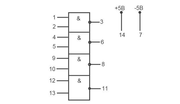 Распиновка микросхемы генератора